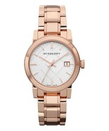 Burberry Ladies Watch BU9104 Swiss Made Heritage Rose Gold Stainless steel  - $169.00