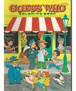 GUESS WHO COLORING BOOK#2948;Drawings by Eileen Fox Vaughan;1960 PB;Free... - $9.99
