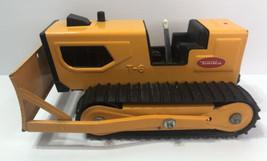 Vintage Pressed Steel Tonka T-6 Dozer Construction Toy Bulldozer # 41420 - $37.05