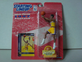 '97 Starting Lineup NBA Series 10 LA Lakers Eddie Jones Action Figure MIP - £6.55 GBP
