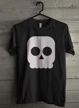 Skull Face Halloween - Custom Men's T-Shirt (3150) - $19.13+