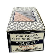 One Dozen Club No. 92 Special Bee Narrow Size Playing Cards New Sealed - $100.00