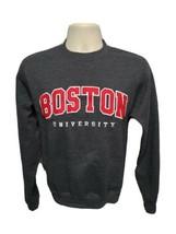 Stitched Boston University Adult Gray XS Sweatshirt - $32.99