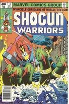 (CB-1} 1979 Marvel Comic Book: Shogun Warriors #11 - $8.00
