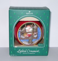 Hallmark Ornament Santas Workshop Lighted in Box Christmas Holiday 1984 - $18.69