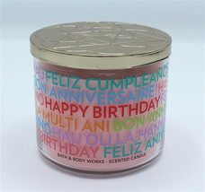 Bath & Body Works Cranberry Pear Bellini Large Three Wick Jar Candle 14.... - $24.99