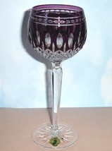 Waterford Clarendon Amethyst Hock Wine Glass #149756 New - $156.90