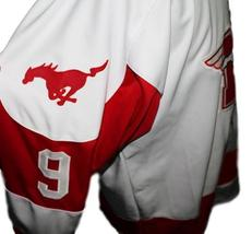 Any Name Number Youngblood Movie Hamilton Mustangs Hockey Jersey Sutton Any Size image 4