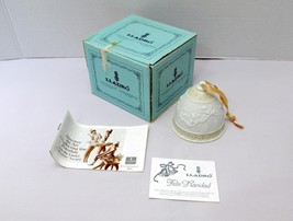 New Vintage Lladro Christmas Bell 1989 Retired #5.616 Matte Finish Box P... - £16.20 GBP