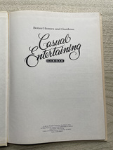 Vintage 1981 BHG Casual Entertaining Cook Book - hardcover image 2