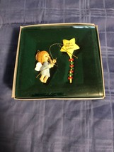 1986 New in Box - Enesco Christmas Ornament - Heavenly Holiday - #551260 - $6.67