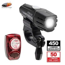 Cygolite Streak 450 Lumen Headlight & Hotshot SL 50 Lumen Tail Light USB... - $76.75