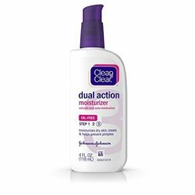 Clean & Clear Essentials Dual Action Face Moisturizer with Salicylic Acid - $7.52