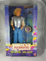 Mattel 1995 #13329 Disney's Pocahontas Sun Colors John Smith - $18.69