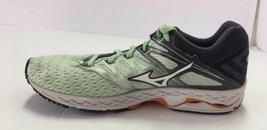 Mizuno Wave Shadow 2 Running Shoes Women's Sz 8.5 Misty Jade White - $50.48