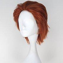 Miss U Hair Men Short Straight Hair Synthetic Auburn Color Halloween Cosplay Wig image 4