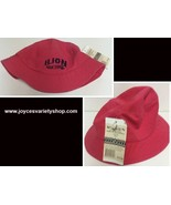 Ilion New York Pink Bucket Hat My Town Community Souvenirs Adult Size NWT - $10.99