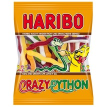 HARIBO Crazy Python gummies -175g -Made in Germany - $4.41