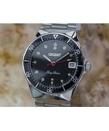 Orient King Diver 34mm Hand-Wind Stainless-Steel w/Date, c.1970s Vintage... - $693.78