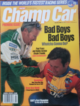 Racer: Champ Car Premier Issue June/July 1999:  Paul Tracy, Robby Gordon - $15.95