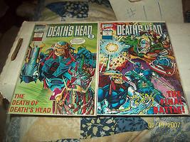 DEATH'S HEAD II (MINI-SERIES) #1 & 4 - $3.50