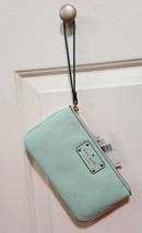NWT KATE SPADE graceblue Berkshire Road LEATHER Zippered Chrissy Wristle... - ₨5,136.97 INR