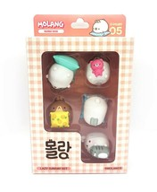 Molang Figures Volume 5 Lazy Sunday Set Miniature Figures Toy Set (5 Counts) image 2