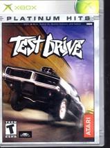 Test Drive - XBOX (Patinum Hits) - $9.90