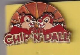 Chip & Dale Signature Collection Sunris Logo LE 750 Authentic WDW Disney... - $49.99