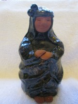 """Red clay woman CES Nazare Portugal, 5"""", terracotta?? - $30.00"""
