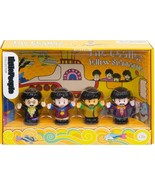 Fisher-Price The Beatles Yellow Submarine by Little People Mini Figures NEW - $32.46
