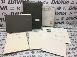 1999 Honda CRV CR-V RHD Owner's Owner Manual Handbook Wallet Service Booklets - $27.46