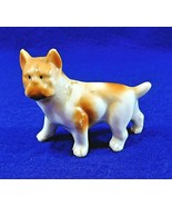 """Small Boxer Dog Figurine Made in Japan Vintage 2 1/2"""" Bone China - $12.50"""