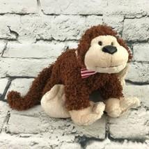 Ganz Webkinz Cheeky Monkey Plush Brown Chimp Stuffed Animal Soft Toy - $9.89