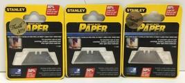 (New) Stanley 11-938 Heavy duty WallPaper Blades  3 pc Lot of 3 - $15.63