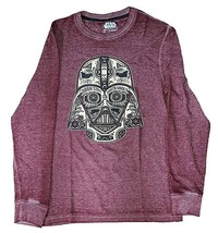 Star Wars Movie Darth Vader Red Long Sleeve Thermal Graphic T-Shirt New  - $11.87+