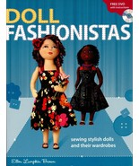 Doll Fashionista Making Body & Clothes Sewing Pattern Book & CD by Ellen... - $15.99