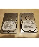 2  - Hitachi Deskstar HDS722580VLSA80 80GB Hard Drives 3.5 SATA Tested a... - $35.00