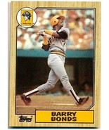 Barry Bonds RC 1987 Topps Rookie Card#320 GEM MINT?PIRATES OF RC GOAT-VE... - $9.89