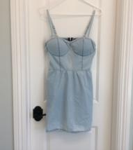 Gby Vintage Guess Denim Jean Mini Dress - $26.99