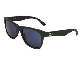 Lacoste Men's Foladable Sunglasses L778S 002 Matte Black Blue L778 New 52mm - $163.30
