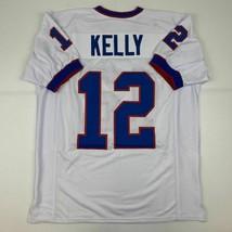 New JIM KELLY Buffalo White Custom Stitched Football Jersey Size Men's XL - $49.99