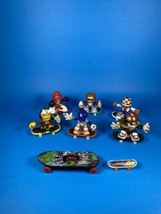 Tech Deck Dudes Lot Of 6 X-Concepts Evolution 2004-2005 With Skateboards - 14 Pc - $35.76