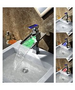 Third Gear Cartridge Water-saving Color Changing LED Waterfall Bathroom ... - $287.05
