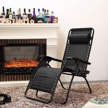 Zero Gravity Lounge Chair 2 Pack with Pillow and Utility Tray Adjustable... - €129,18 EUR