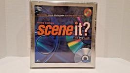 Scene It? The Premier Trivia DVD Game Movie Edition In Collectors Tin - $27.95