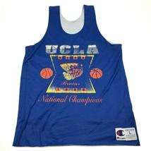 VINTAGE Champion UCLA Bruins Basketball Jersey Size Large 95 National Champions - $73.88