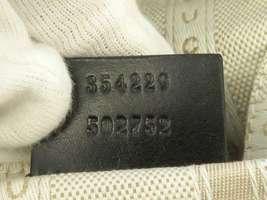 GUCCI Diamente Leather Black Shoulder Bag 354229 One shoulder Italy Authentic image 11