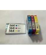 Hewlett Packard HP 564 New Open Box Ink Cartridges Cyan Magenta & Yellow - $14.01
