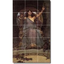 John Waterhouse Mythology Painting Tile Murals BZ09370. Kitchen Backspla... - $150.00+